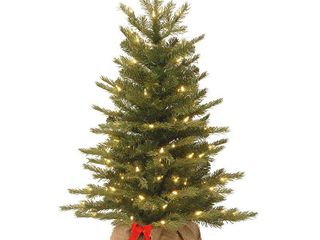 3  Nordic Spruce Tree with Battery Operated Warm White lED lights