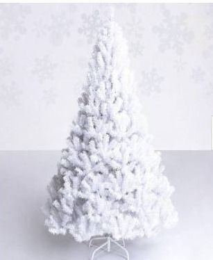 5 ft  Artificial PVC Christmas Tree with Stand White by Costway