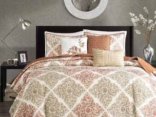 Madison Park Arista 6 Piece Quilted Coverlet Set Twin