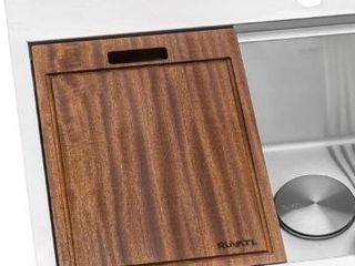 Ruvati RVA1217 solid wood cutting board 17 in