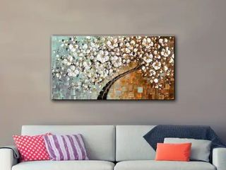 18x36  ArtWall Susanna Shaposhnikova s Warmer  Gallery Wrapped Canvas