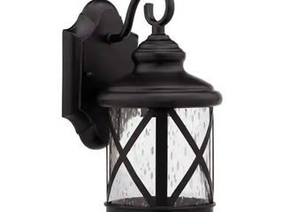 1 light Dark Rubbed Bronze Outdoor Wall light