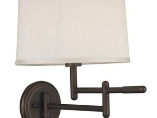 Copper Grove Marston 1 light Copper Bronze Swing Arm Wall lamp Retail 94 49