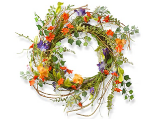 22in Morning Glory Wreath