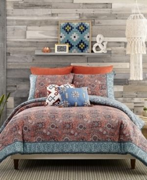 Jessica Simpson Antara 3 Piece Full Queen Comforter Set Bedding