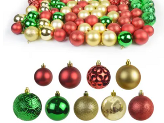 84 Pk Christmas Ornament Multi Medium