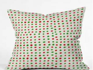 Deny Designs Polka Dot Reversible Indoor Outdoor Pillow