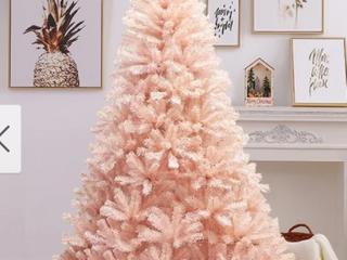 Pink Faus PVC CHRISTMAS Tree