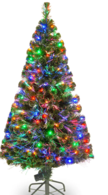 5  Tall Fiber Optic lED tree