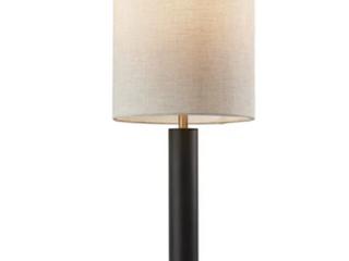 Strick   Bolton Daniela Satin Steel Table lamp Retail 80 98