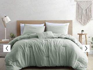 Modern Threads Braelyn 4 Piece Garment Washed Comforter Set