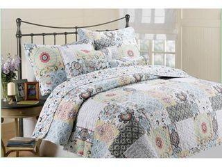 Moorea 3 piece Quilt Set   Multi  Retail 89 49