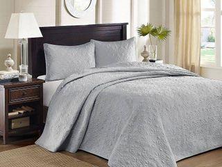 Home Essence Vancouver Solid Reversible Bedspread Set