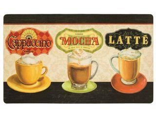 Mohawk Comfort Mat Coffee Moments  1 6x2 6