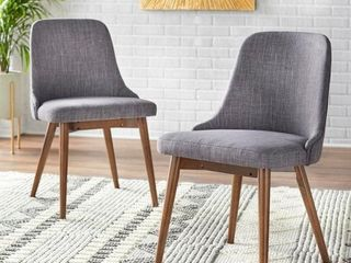 Carson Carrington Tornio Dining Chair  Set of 2  Retail 248 99