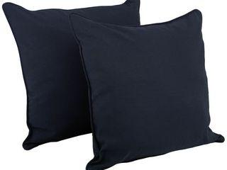 Delaney 25 inch Indoor Outdoor Throw Pillow  Set of 2
