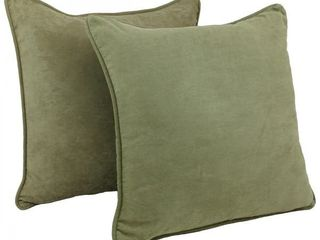 Copper Grove Ashley 25 inch Corded Microsuede Floor Pillow  Set of 2