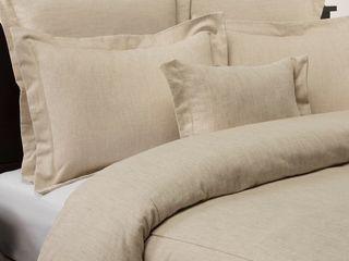 Classic linen Natural Comforter  Retail 178 99