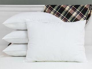 Swisslux Allergy Free Anti microbial Pillows with Ultra Fresh  Set of 4    White