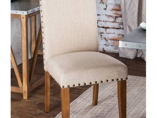 Furniture of America Aralla Upholstered Dining Chair one chair  Retail 209 49