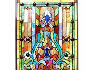 Chloe Tiffany style Victorian Design Window Panel  Retail 151 49