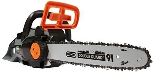 Scott s 40 volt 14 inch battery powered chainsaw