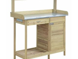 Cabinet Deluxe Potting Bench  Retail 193 49
