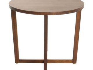 Tansy Round Acacia Wood End Table by Christopher Knight Home  Retail 77 98