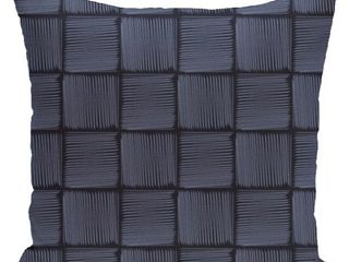 26 x 26 inch Basketweave Geometric Print Pillow
