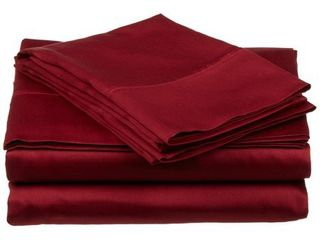 Wickenden 800 Thread Count Bedding Egyptian Cotton Sheets   Pillowcases  4 Piece Deep Pocket Sheet Set by Impressions   Queen