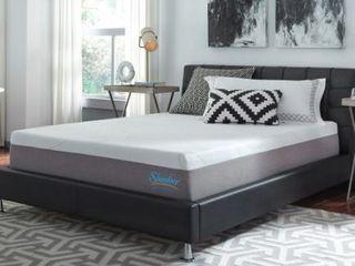 Slumber Solutions 12 inch Gel Memory Foam Choose Your Comfort Queen Mattress  Retail 459 99