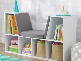 KidsCraft Bookcase with Reading Nook  Retail 171 99