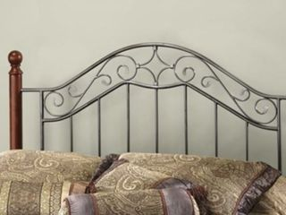 Hisdale Furniture Martino King Metal Headboard  Missing Bed Post