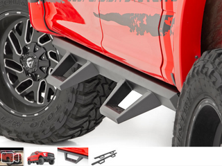 New in box High country Nerf step bars for Ford crew cab see picture with part number you can look up to see if it fits yours