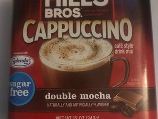 Six tubs of hills brother cappuccino mix Best used date May 2021