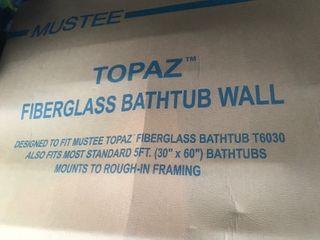 New bath tub shower wall unit 30 x 60 set this is just rhe wall unir nor the tub