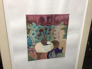 Nice large artwork these framed signed by artist