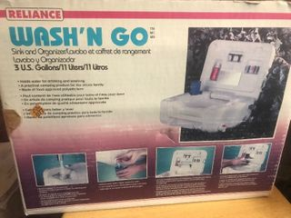 Hand washTogo sink with this portable sink system as picture
