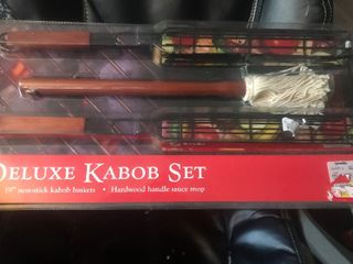 New deluxe kebab kit great Christmas gift