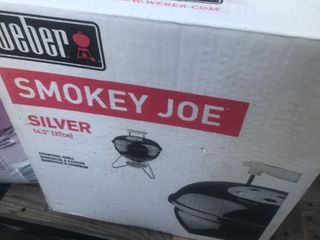 Never been used little smoky Joe barbecue   lAST ONE