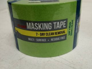 Pro grade masking tape multi surface residue free 2 83 inch by 60 yards dolphin