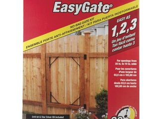 homax easy gate Gate Bracket Kit  4 Bracket  Easy Gate  for Gate Repair and New Gates