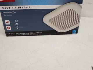 Utilitech 70 CFM White Bathroom Fan