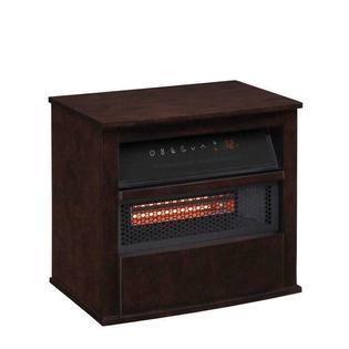 Duraflame 1500 watt Infrared Quartz Cabinet Electric Space Heater