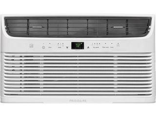 Frigidaire 8 000 BTU 115V Window Mounted Mini Compact Air Conditioner with Temperature Sensing Remote Control