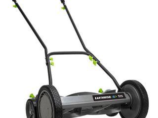 Earthwise 16 in 5 Blade  Push Reel Mower