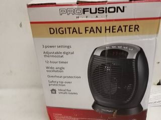 profusion digital fan heater hfu15 e