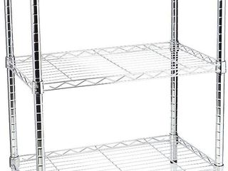 Style Selections 13 4 in D x 23 in W x 30 5 in H 3 Tier Steel Utility Freestanding Shelving Unit