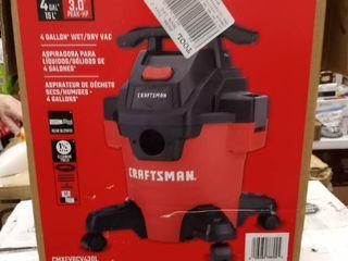 Craftsman 4 Gallon Wet dry Vac