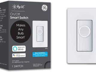 by GE 3 Wire On Off Button Style Smart Switch